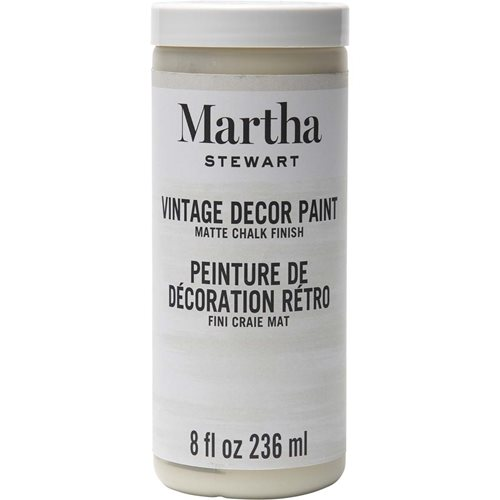 Martha Stewart ® Vintage Decor Matte Chalk Acrylic Paint - Linen, 8 oz.