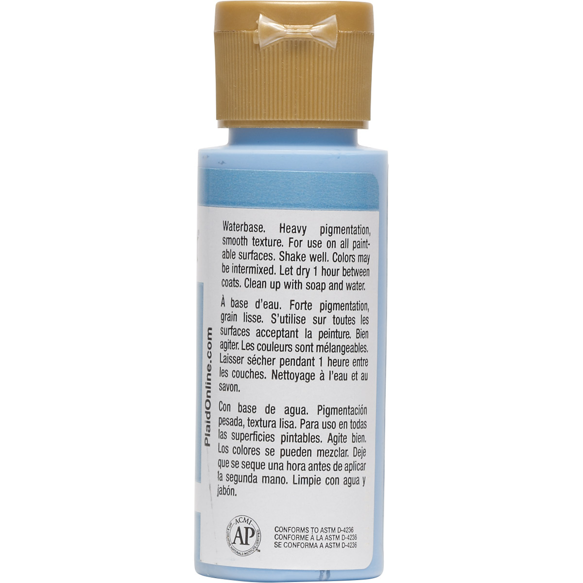 FolkArt ® Acrylic Colors - Medium Blue, 2 oz. - 2556
