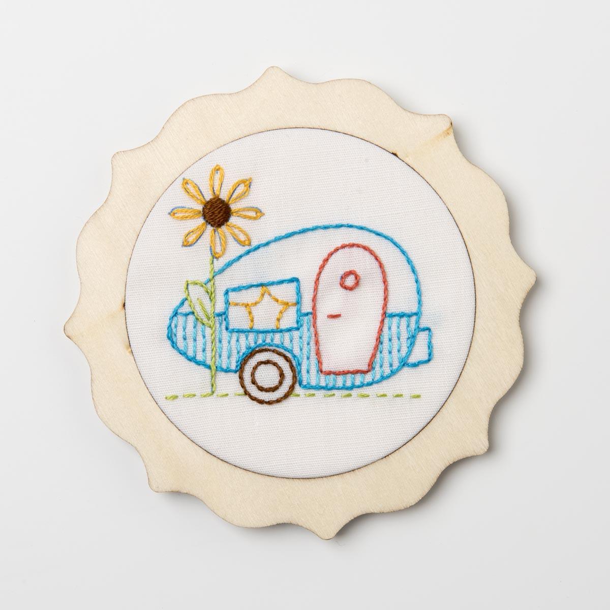 Bucilla ® My 1st Stitch™ - Stamped Embroidery Kits - Camper