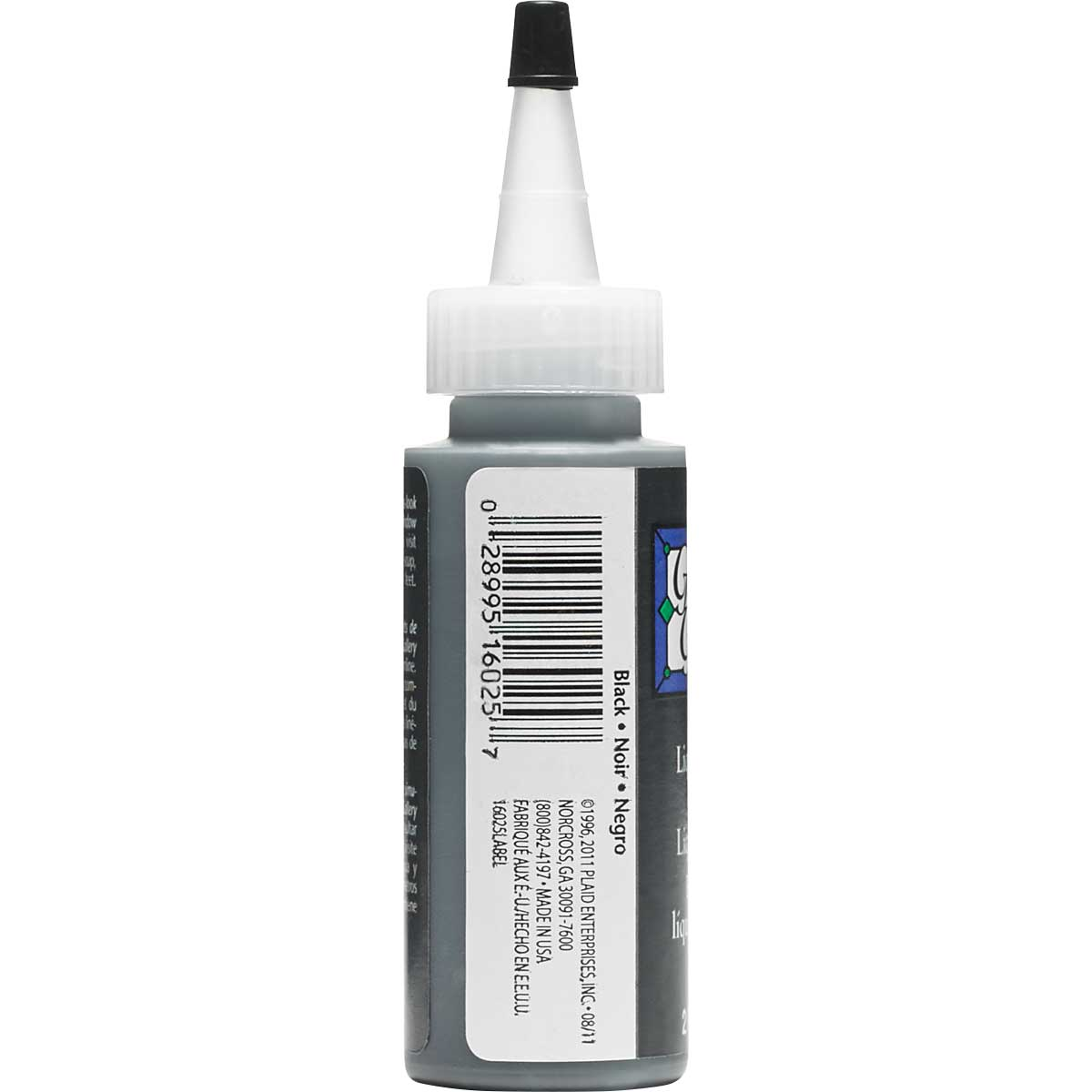 Gallery Glass ® Liquid Leading™ - Black, 2 oz. - 16025