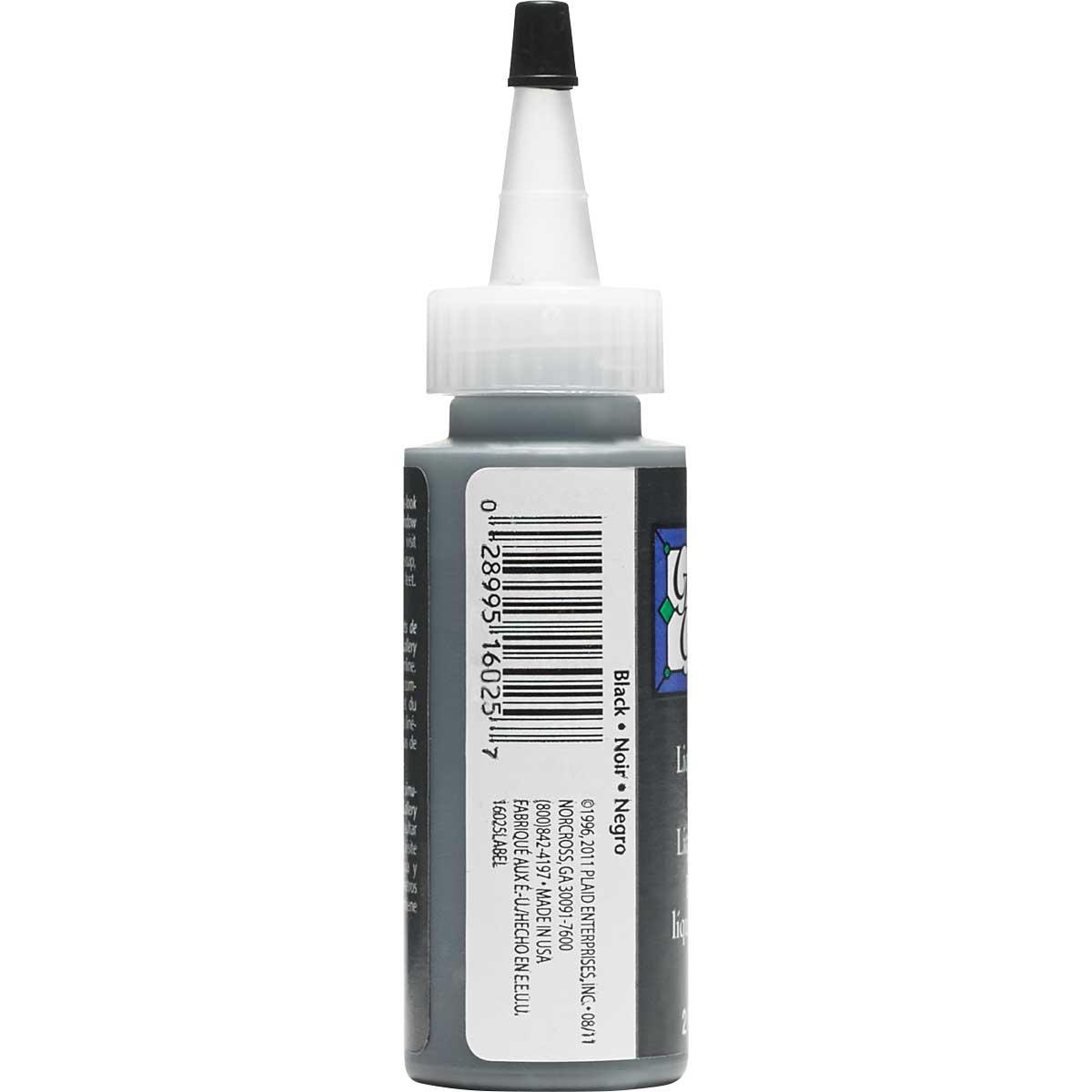 Gallery Glass ® Liquid Leading™ - Black, 2 oz.