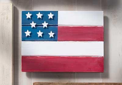 Patriotic Pallet Flag