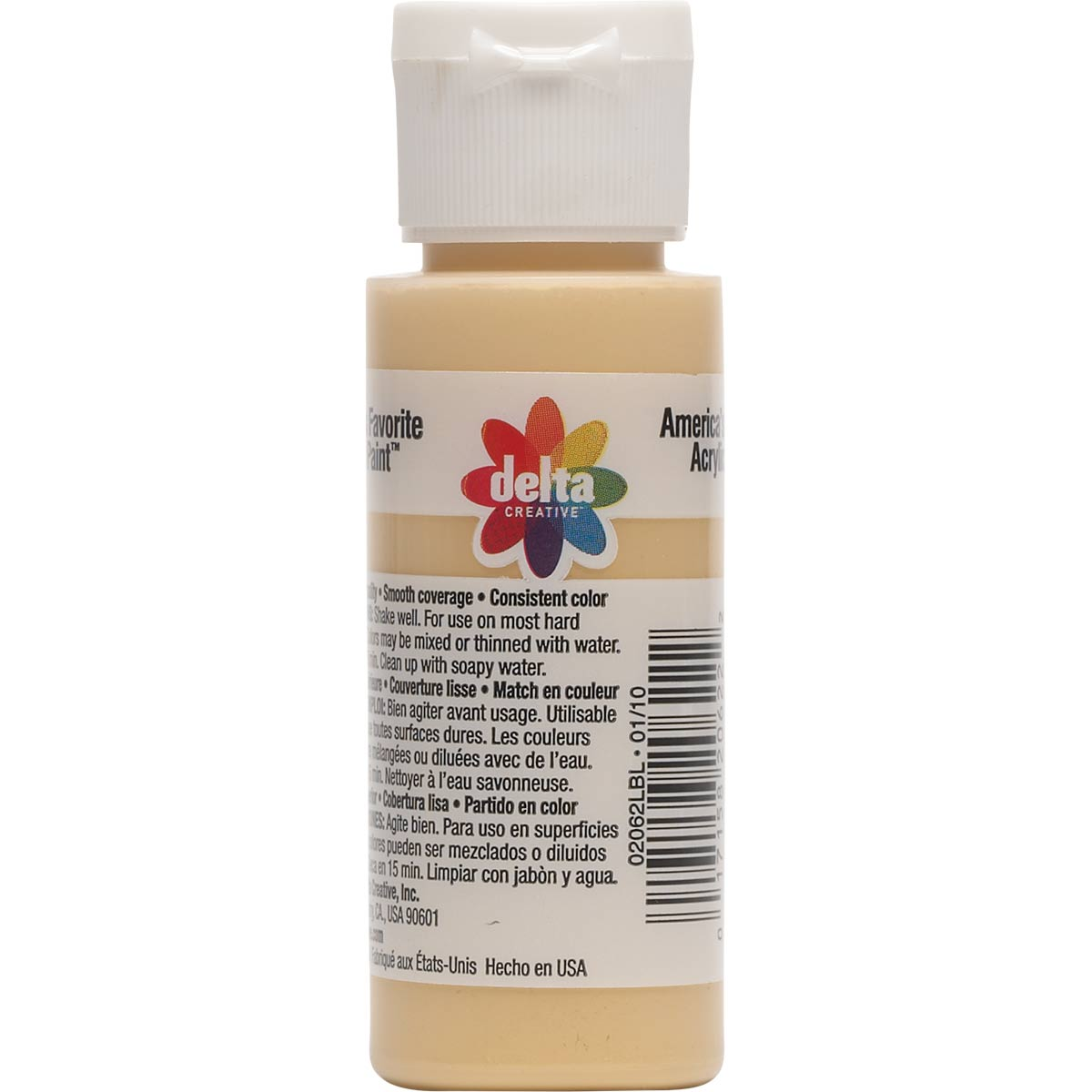 Delta Ceramcoat ® Acrylic Paint - Maple Sugar Tan, 2 oz. - 020620202W