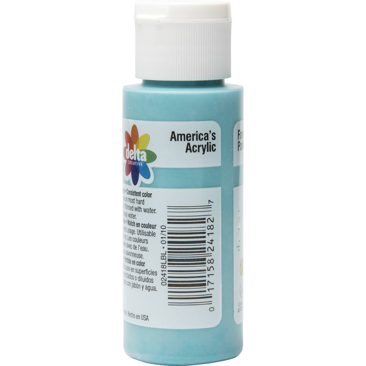 Delta Ceramcoat ® Acrylic Paint - Laguna Blue, 2 oz. - 024180202W