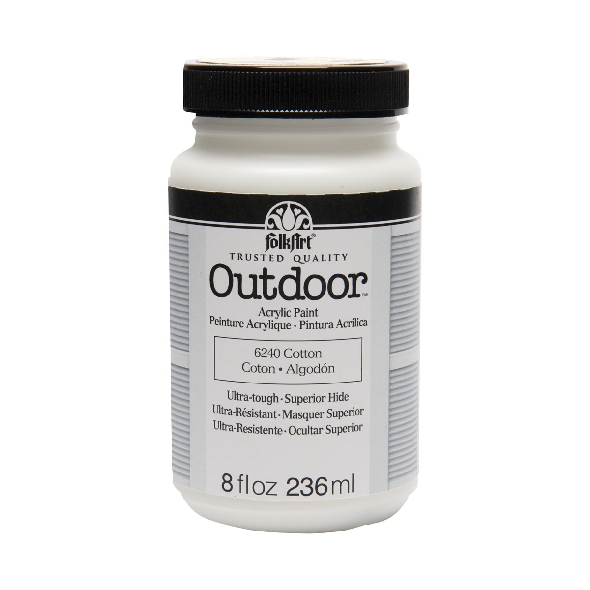 FolkArt ® Outdoor™ Acrylic Colors - Cotton, 8 oz.