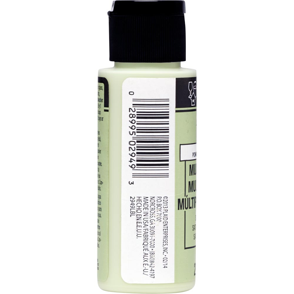 FolkArt ® Multi-Surface Satin Acrylic Paints - Soft Apple, 2 oz. - 2949