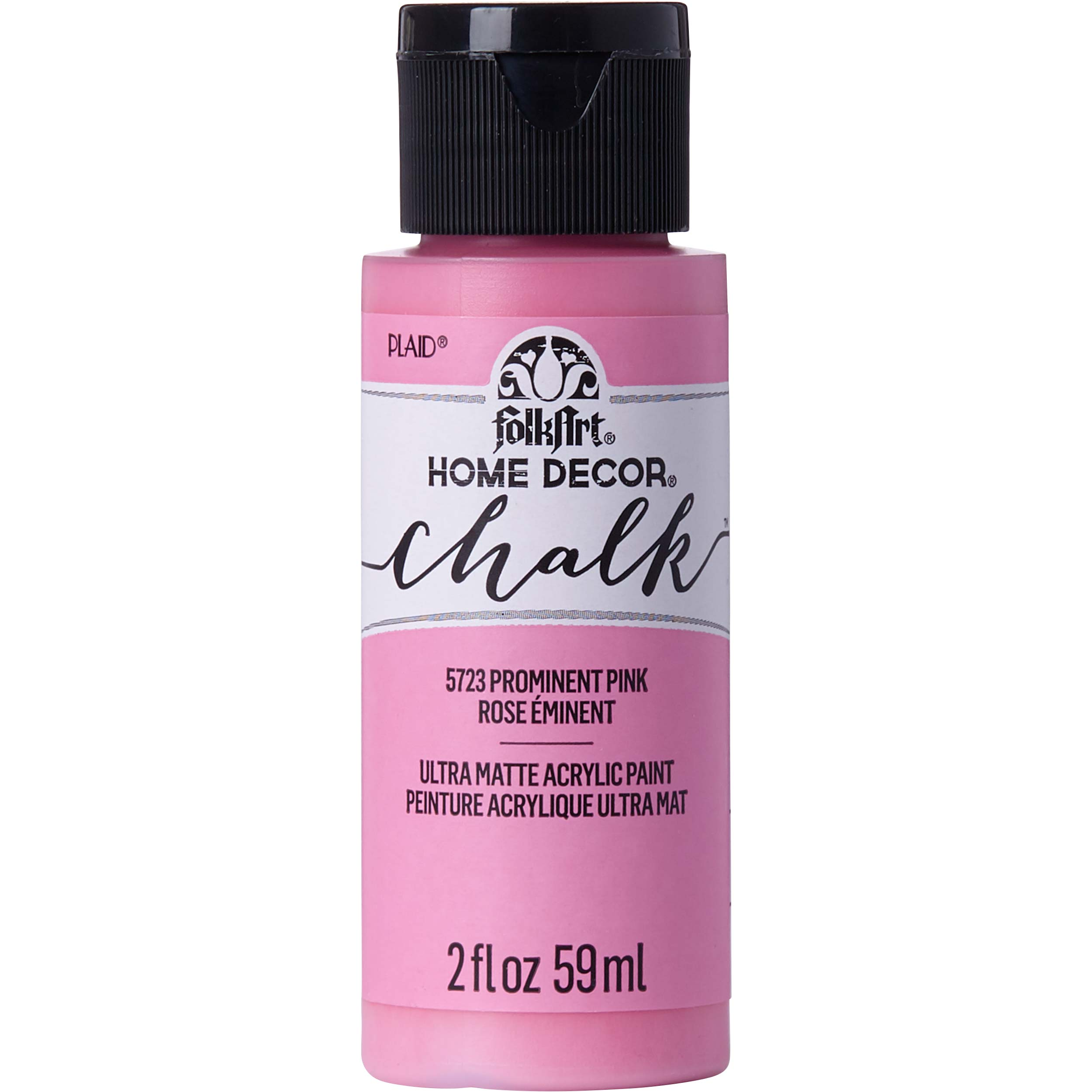 FolkArt ® Home Decor™ Chalk - Prominent Pink, 2 oz. - 5723