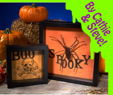 Boo & Spooky Shadow Halloween Boxes