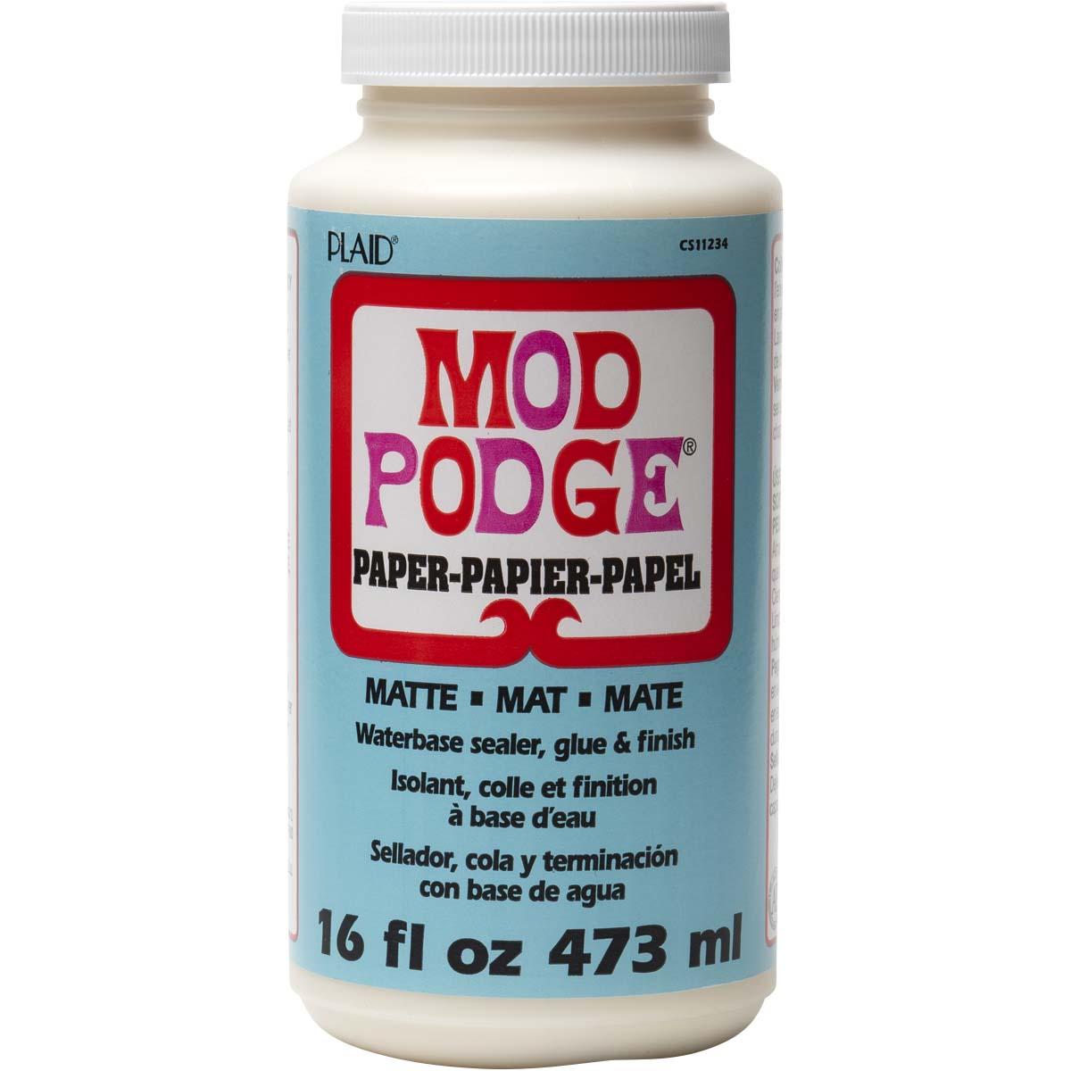 Mod Podge ® Paper - Matte, 16 oz.