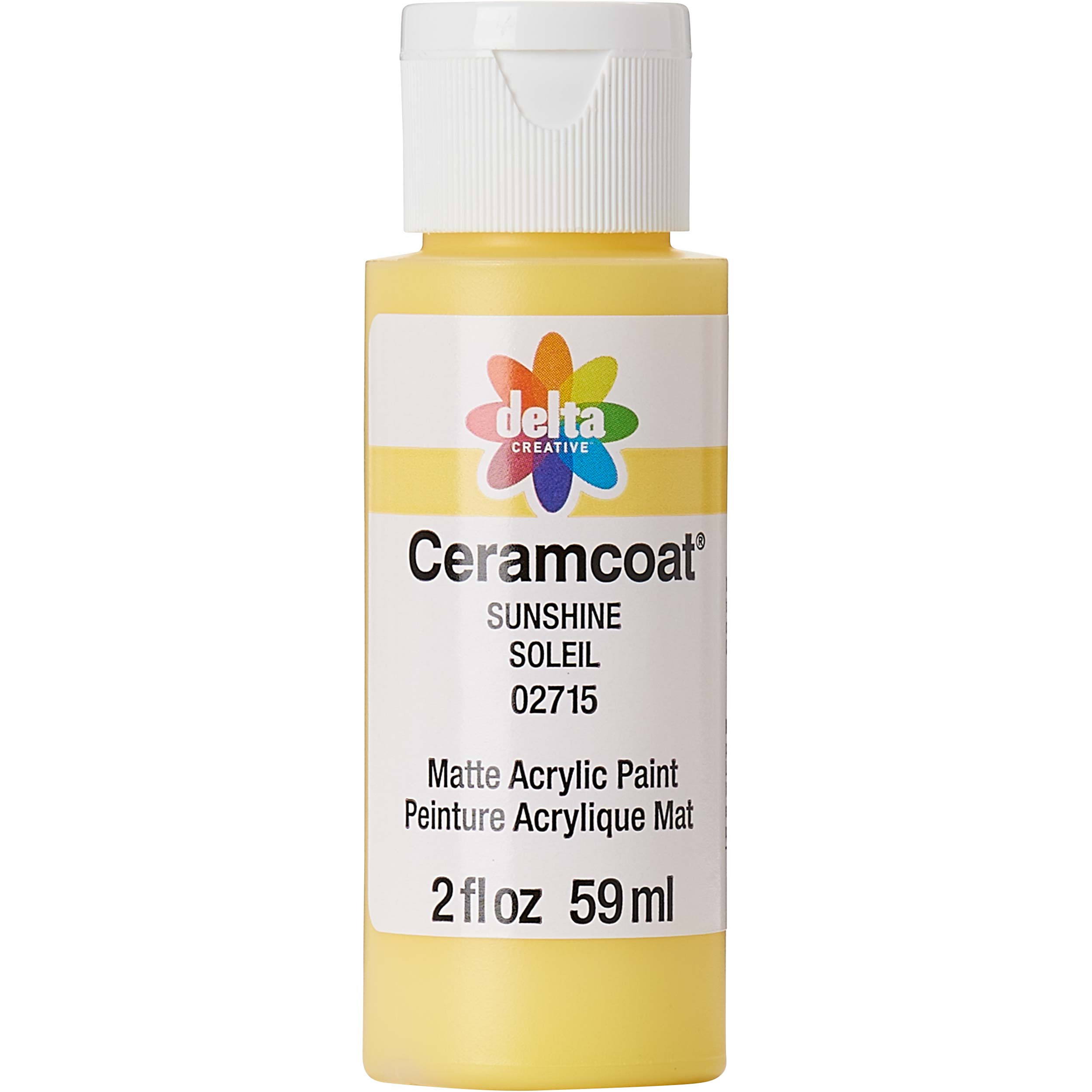 Delta Ceramcoat ® Acrylic Paint - Sunshine, 2 oz. - 02715