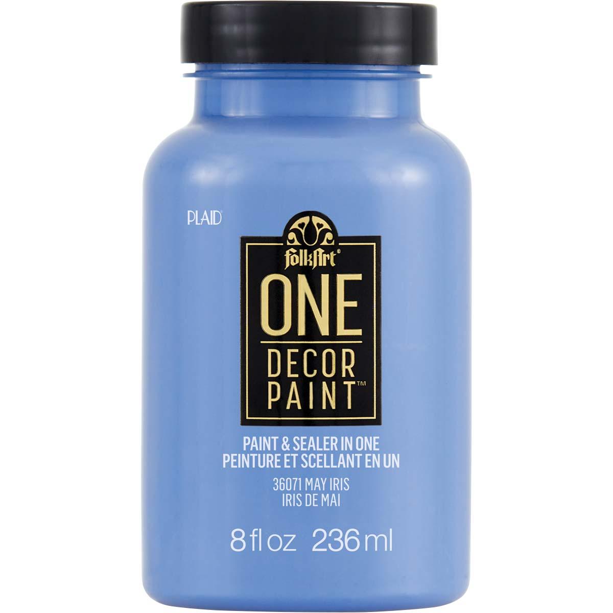 FolkArt ® One Décor Paint™ - May Iris, 8 oz. - 36071