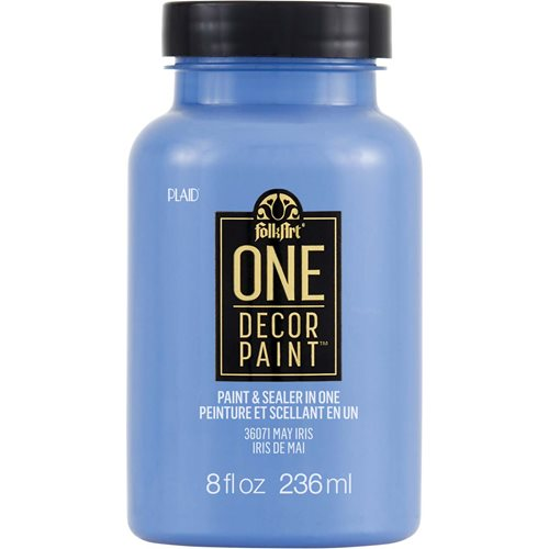 FolkArt ® One Décor Paint™ - May Iris, 8 oz. - 36071