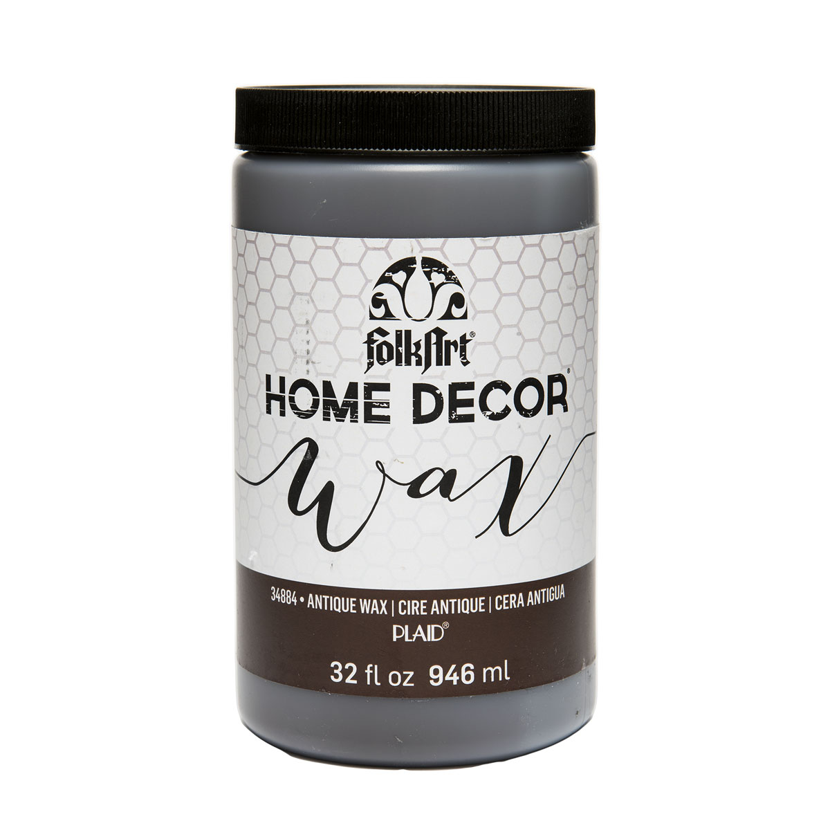 Shop plaid folkart home decor wax antiquing 32 oz for Home interior products online