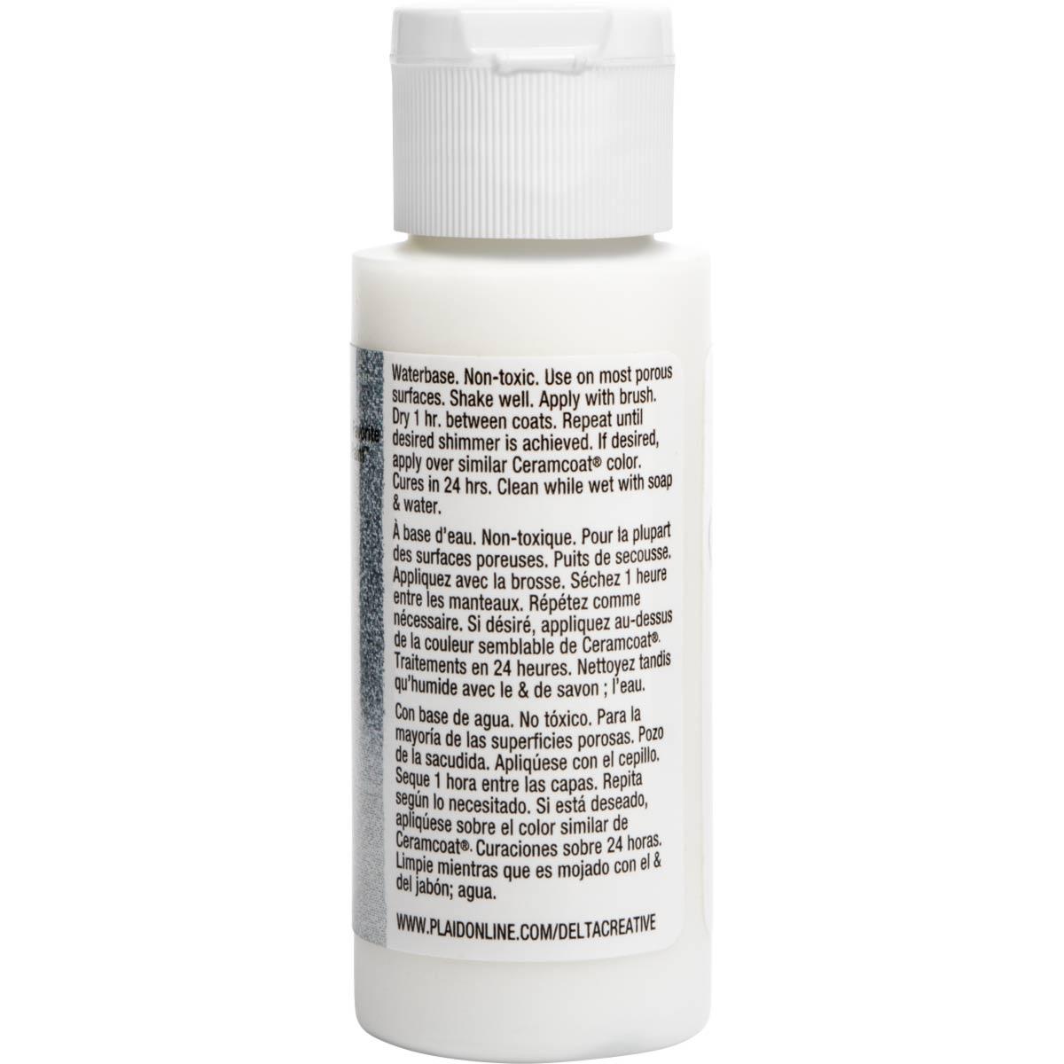 Delta Ceramcoat ® Acrylic Paint - Glitter Ice, 2 oz. - 03001