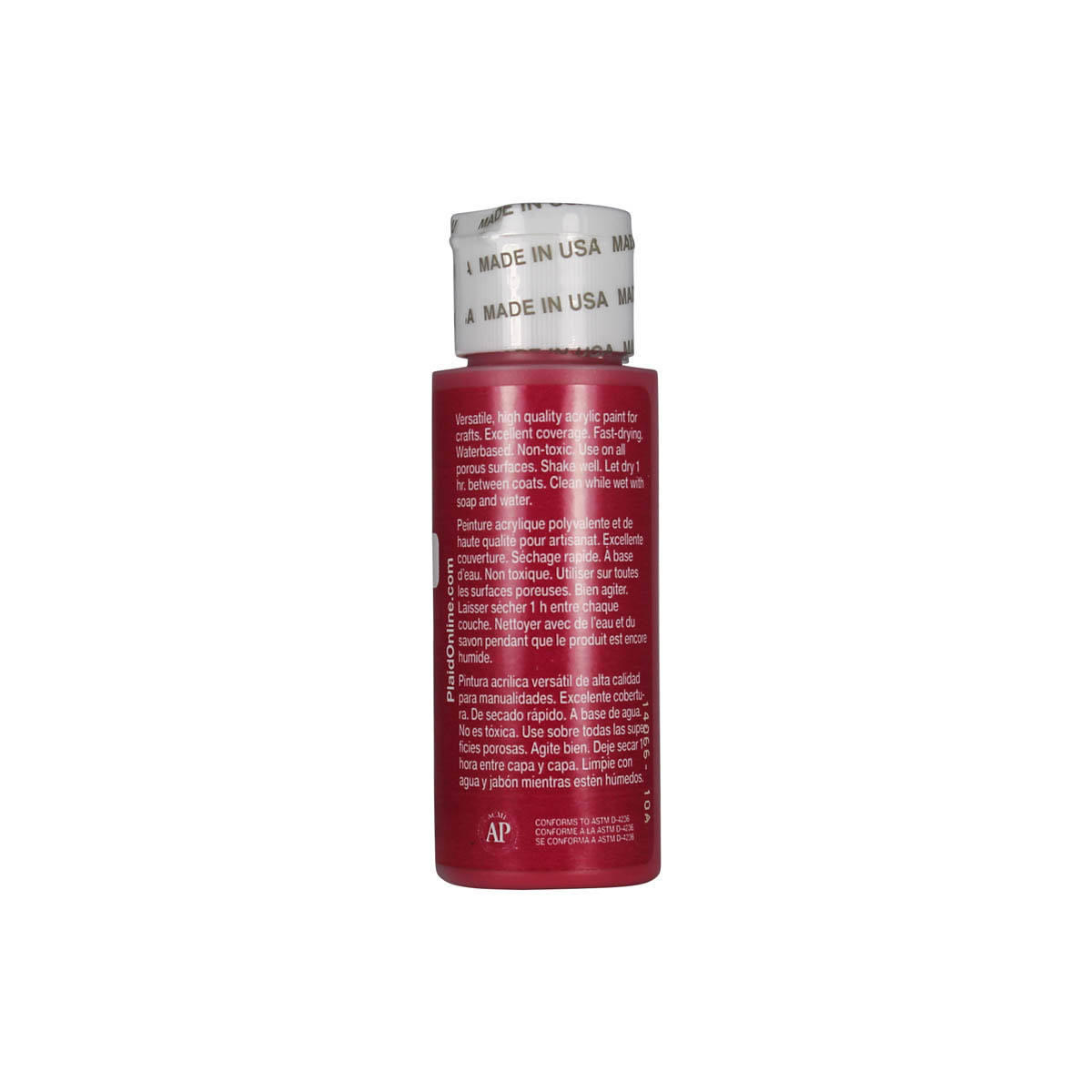 Apple Barrel ® Colors - Berry Red, 2 oz.