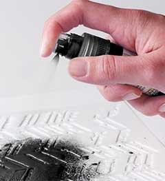 FolkArt ® Mixed Media Color Spray Acrylic Paint - Black, 2 oz.