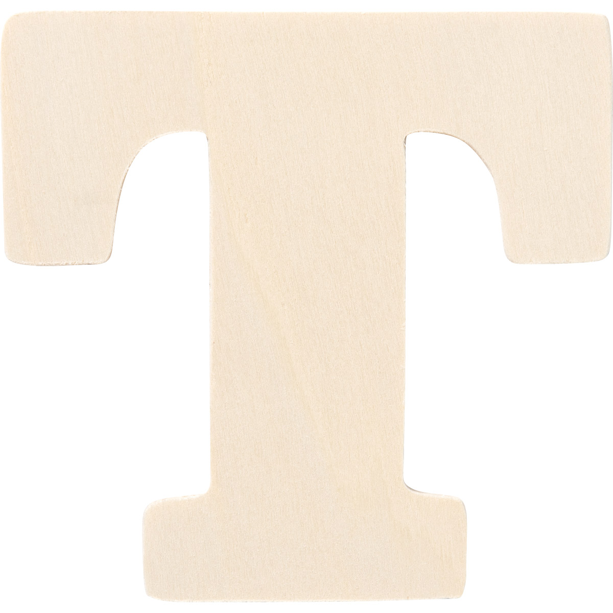 Plaid ® Painter's Palette™ Wood Letter - T. 4 inch