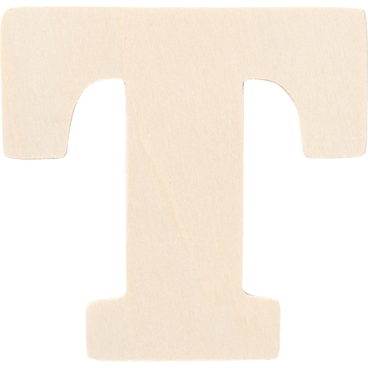Plaid ® Painter's Palette™ Wood Letter - T. 4 inch - 23883