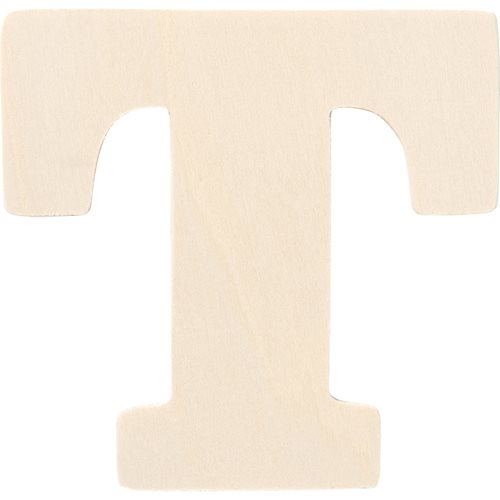 Plaid ® Painter's Palette™ Wood Letter - T. 4 inch - 23883