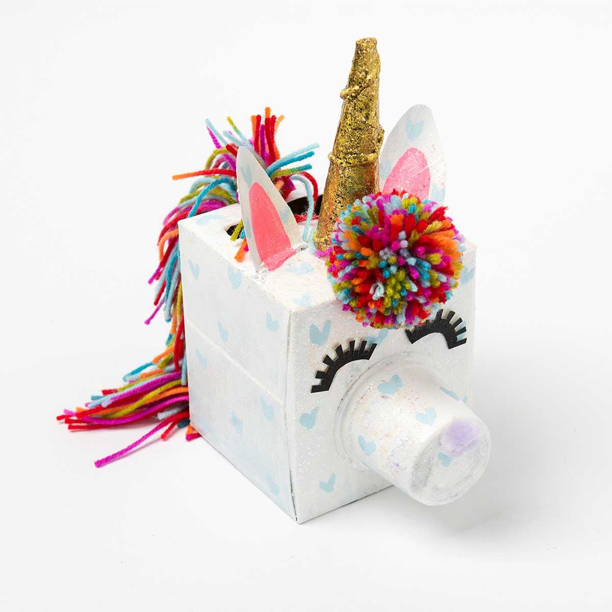 Unicorn DIY Valentine Box