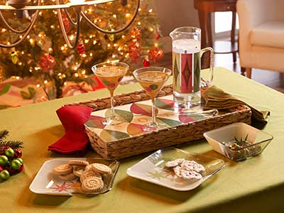 Retro-Inspired Holiday Entertaining Set