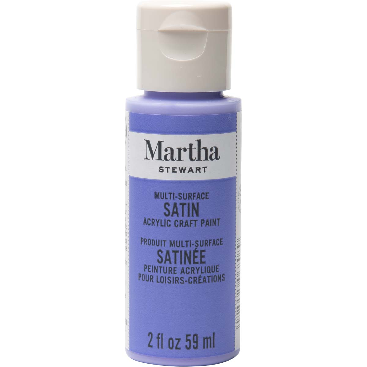 Martha Stewart® 2oz Multi-Surface Satin Acrylic Craft Paint - Periwinkle