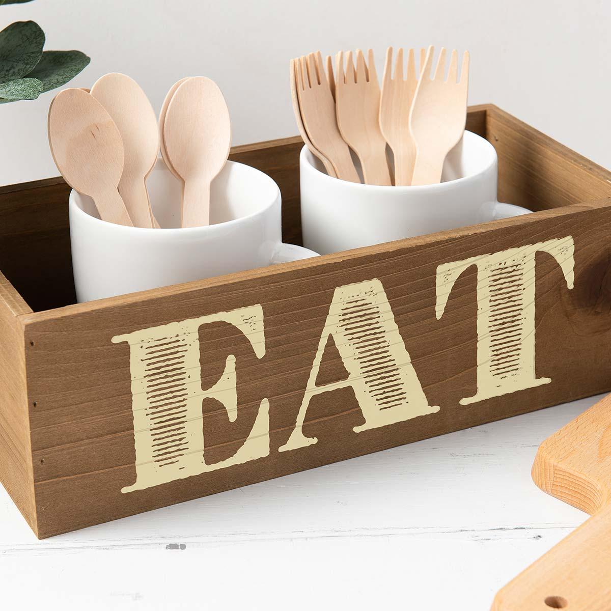 FolkArt ® Sign Shop™ Mesh Stencil - Come Eat, 2 pc. - 63372
