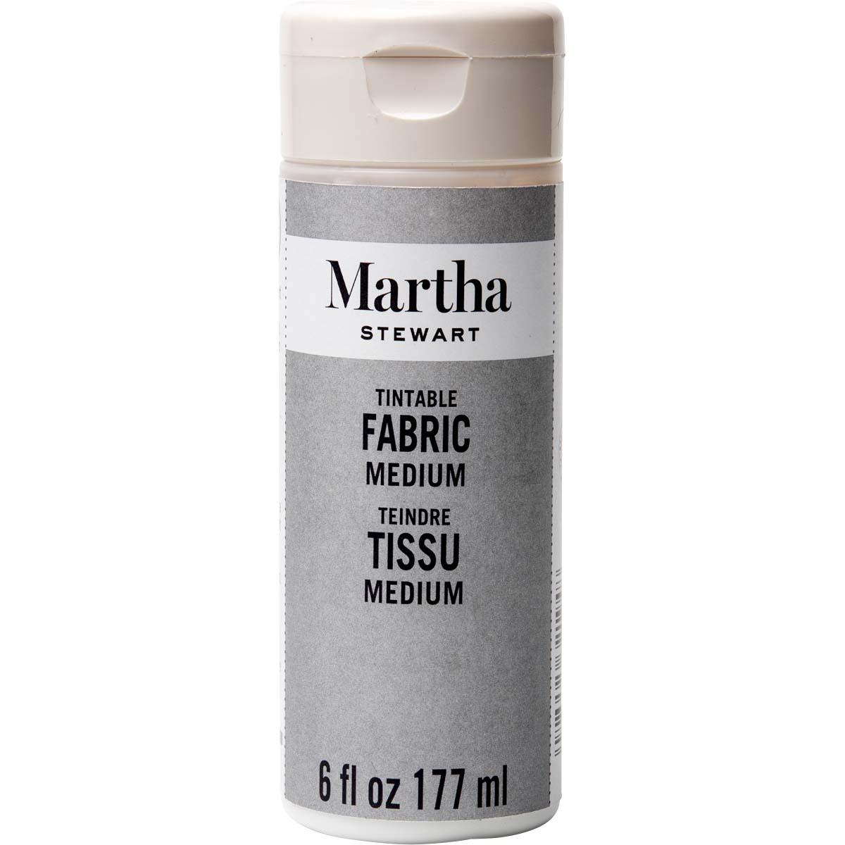 Martha Stewart® 6oz Tintable Fabric Medium
