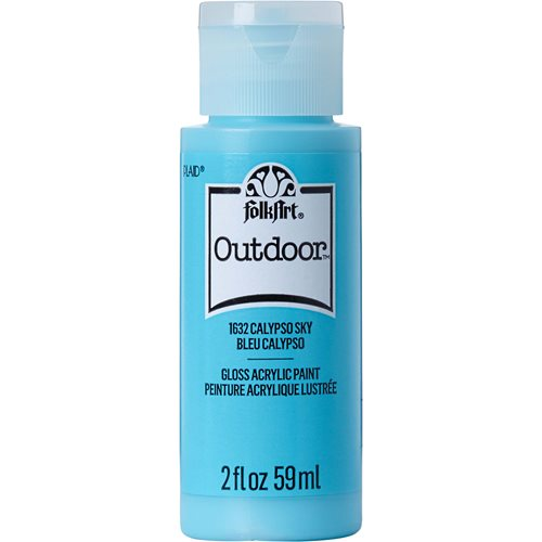 FolkArt ® Outdoor™ Acrylic Colors - Calypso Sky, 2 oz.