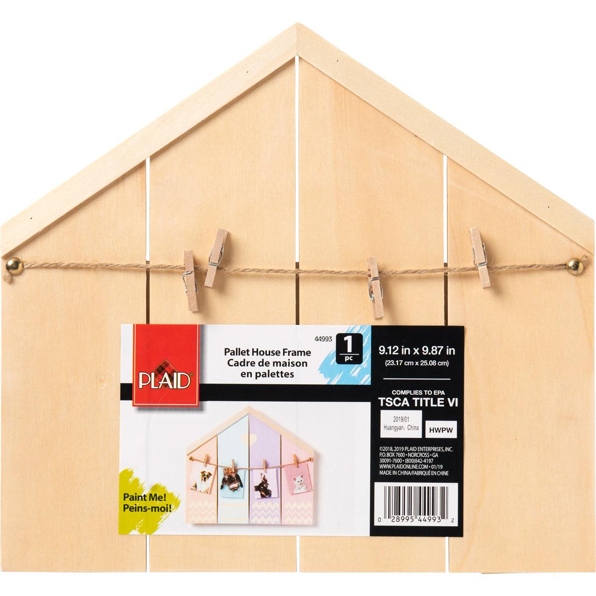Plaid ® Wood Surfaces - Pallet House, 10.81