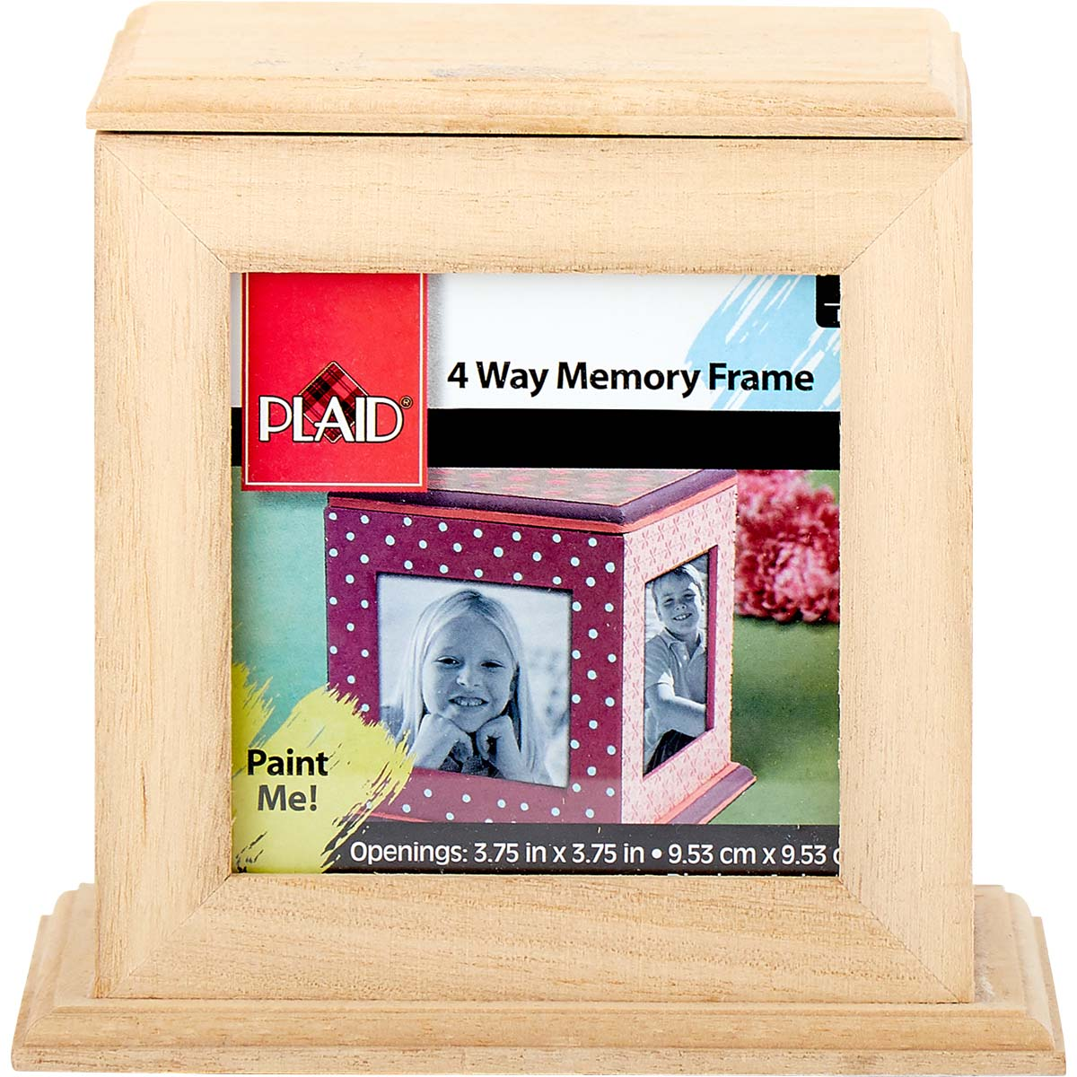 Plaid ® Wood Surfaces - Frames - 4-Way Memory Frame - 97870