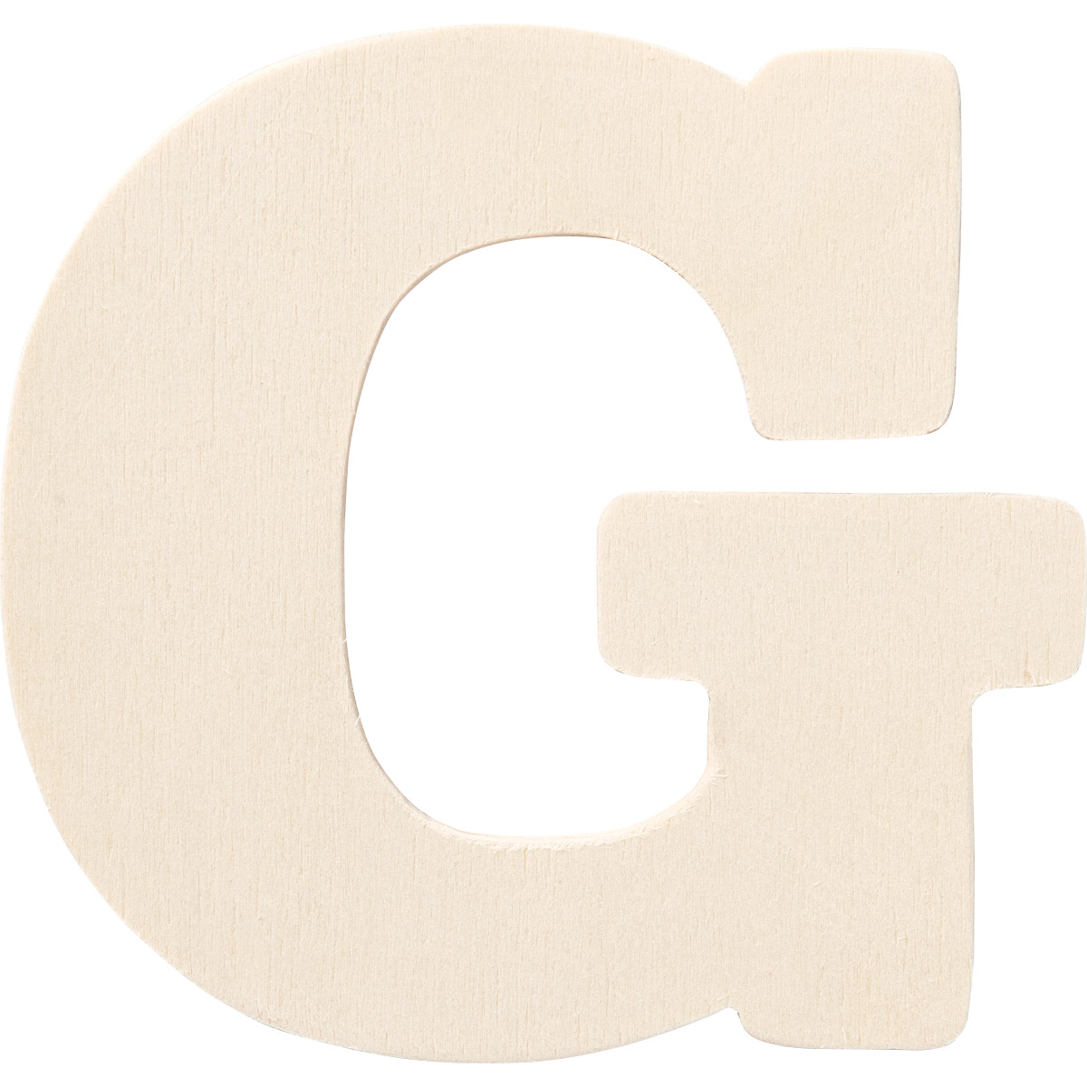 Plaid ® Painter's Palette™ Wood Letter - G. 4 inch - 23796