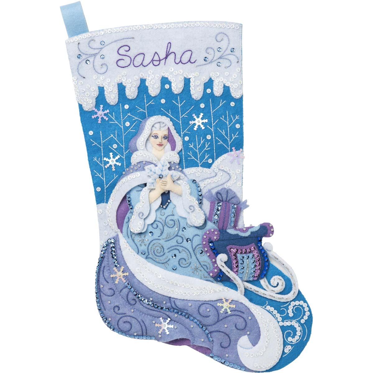 Bucilla ® Seasonal - Felt - Stocking Kits - Winter Magic - 89243E