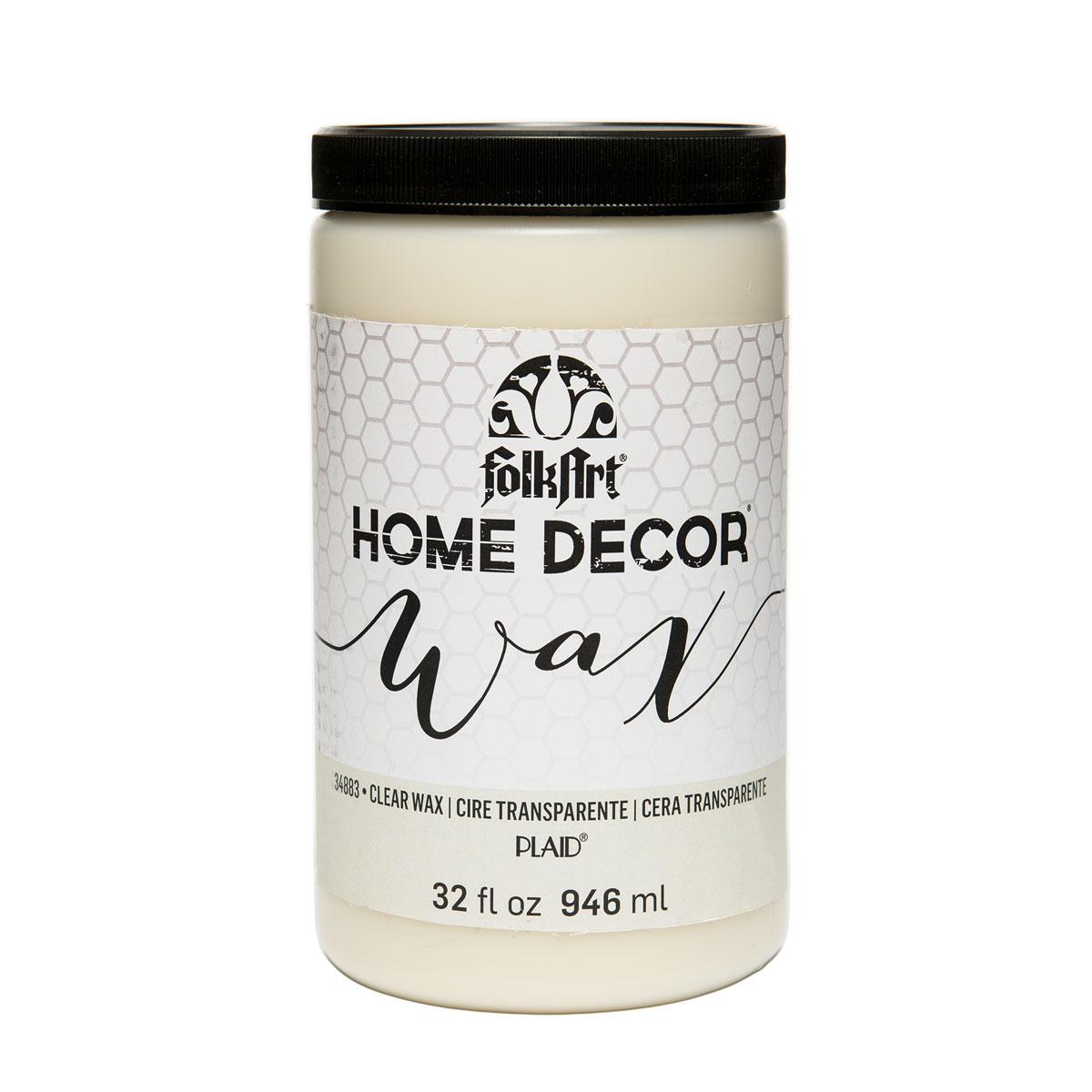 FolkArt ® Home Decor™ Wax - Clear, 32 oz.