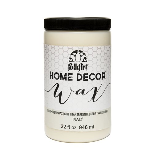 FolkArt ® Home Decor™ Wax - Clear, 32 oz. - 34883