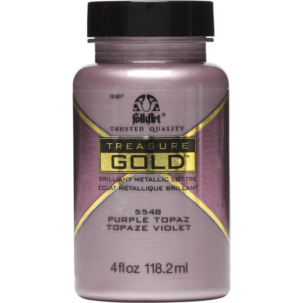 FolkArt ® Treasure Gold™ - Purple Topaz, 4 oz. - 5548