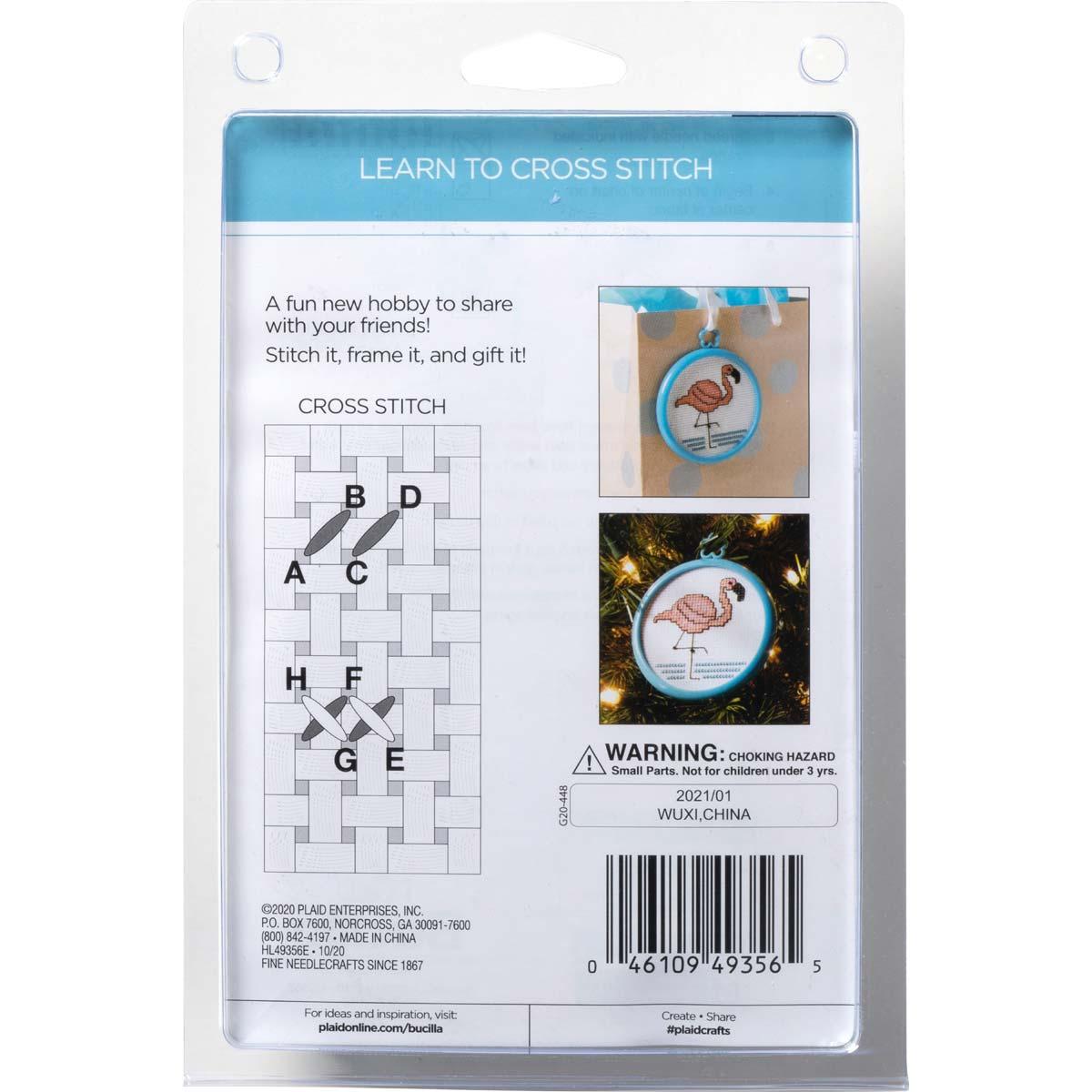Bucilla ® My 1st Stitch™ - Counted Cross Stitch Kits - Mini - Bee - 49356E