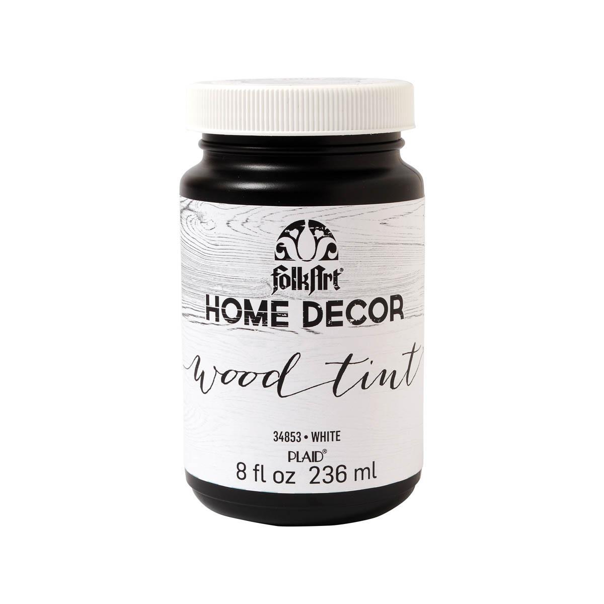 FolkArt ® Home Decor™ Wood Tint - White, 8 oz.