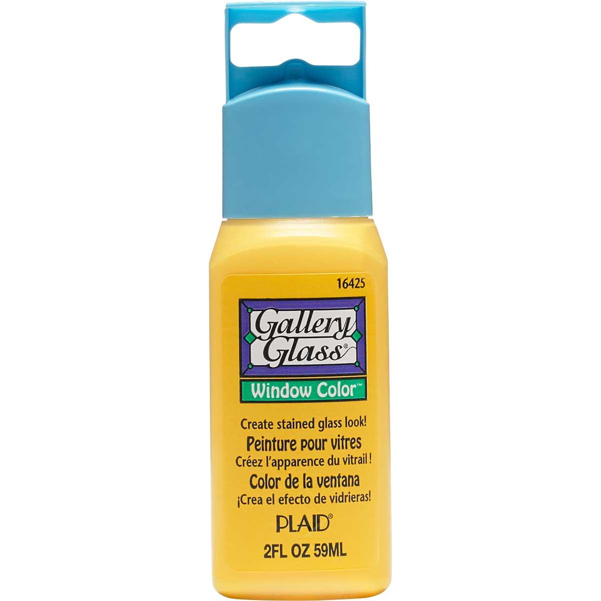 Gallery Glass ® Window Color™ - Citrus Yellow, 2 oz.