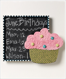 Cupcake Shadow Box