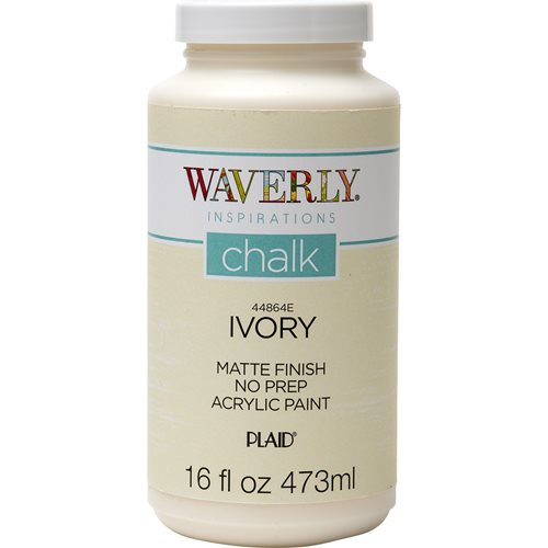 Waverly ® Inspirations Chalk Finish Acrylic Paint - Ivory, 16 oz.