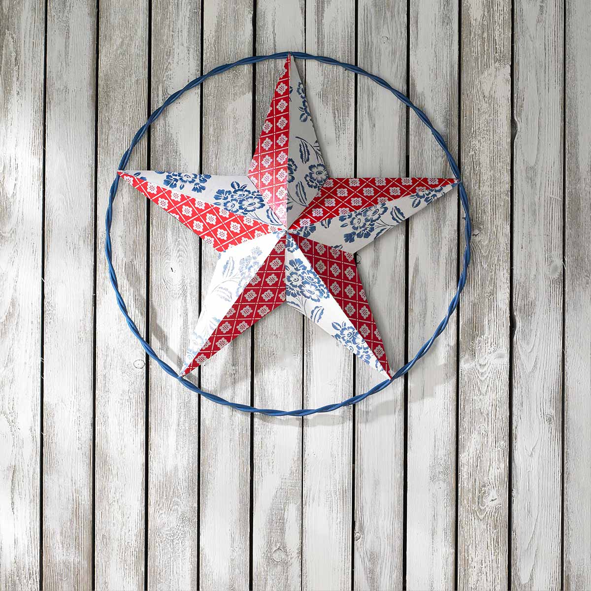 Large Tin Star with Waverly Super Premium Paint