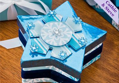 Snowflake Star Gift Box