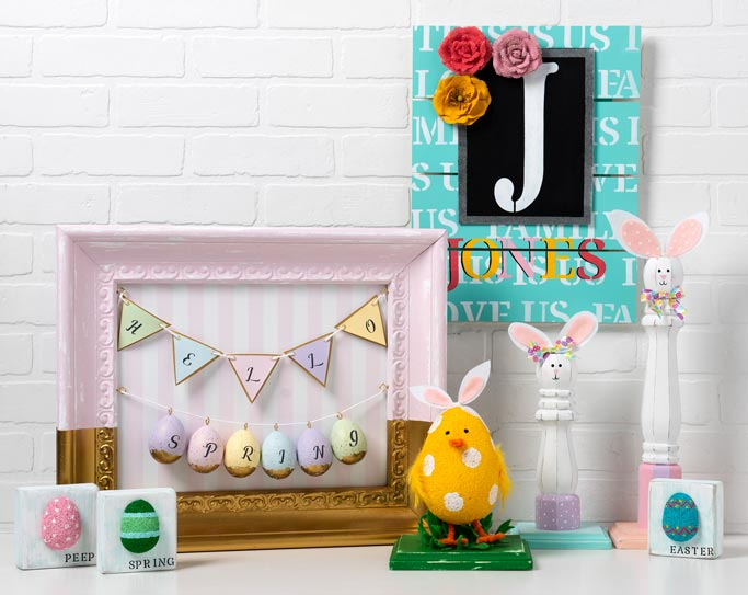 Four DIY Easter Projects to Decorate Your Home this Holiday