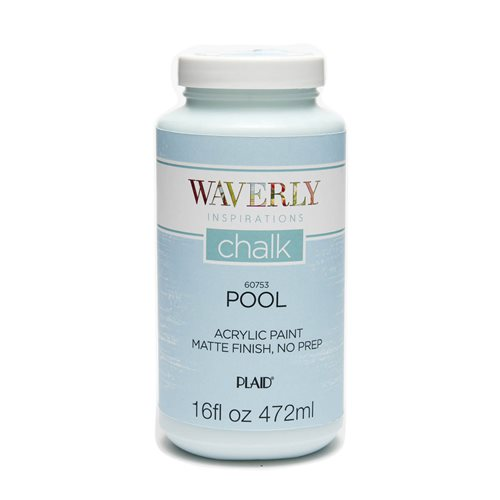 Waverly ® Inspirations Chalk Finish Acrylic Paint - Pool, 16 oz.