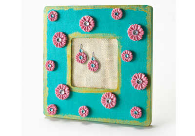 Mod Podge® Mod Melts Earring Holder