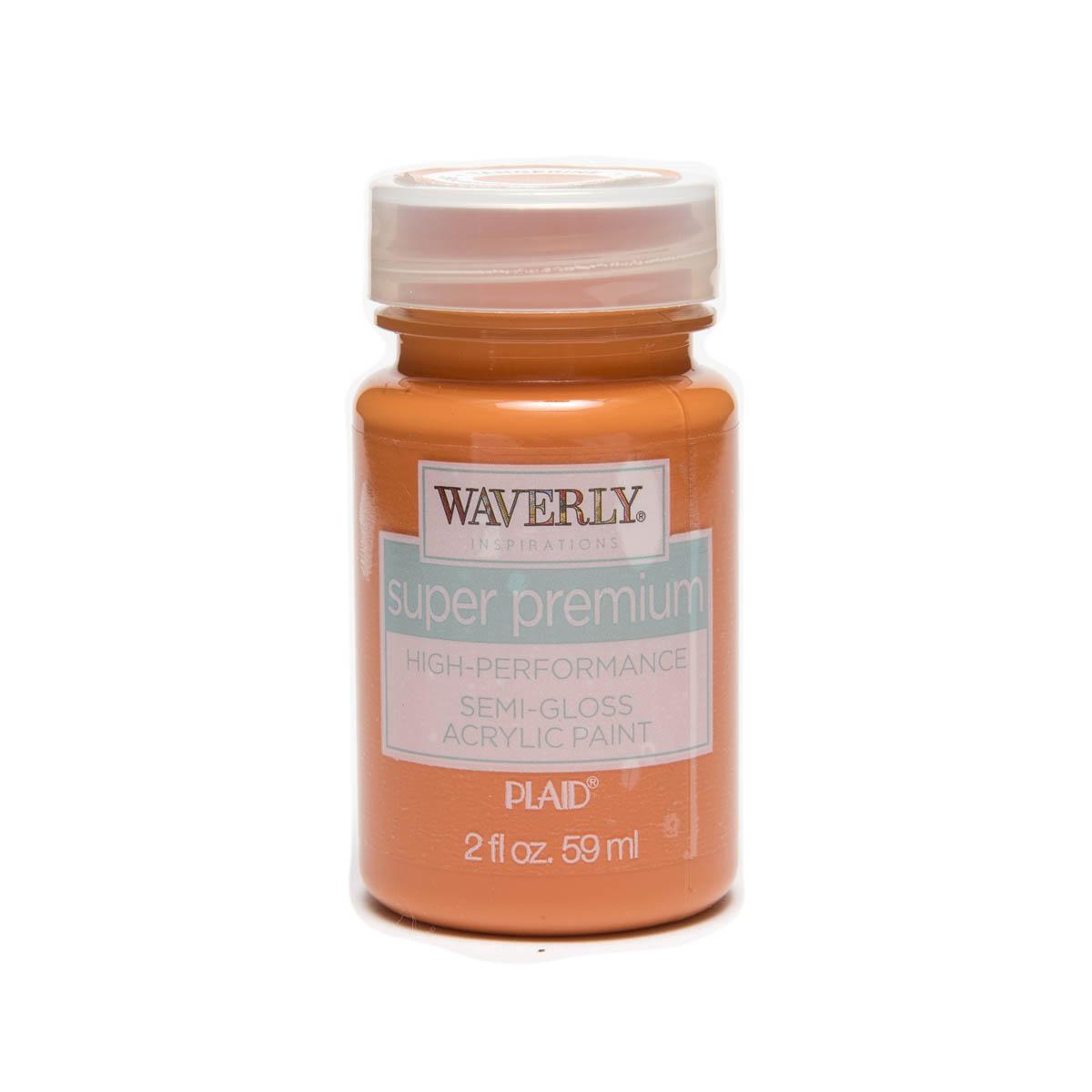 Waverly ® Inspirations Super Premium Semi-Gloss Acrylic Paint - Tangerine, 2 oz.