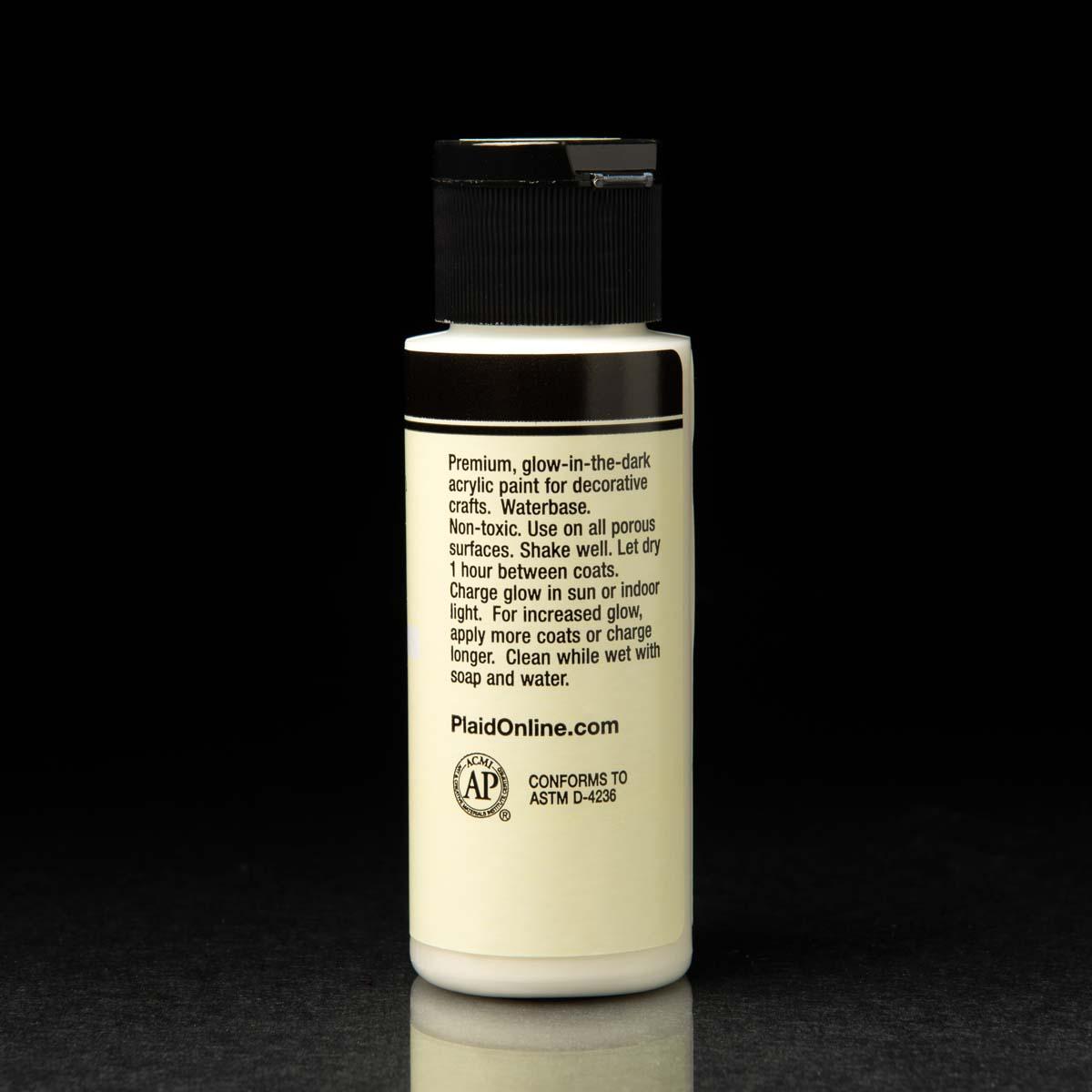 FolkArt ® Neons Glow-in-the-Dark 8 Color Set - PROMOFAGLOW8