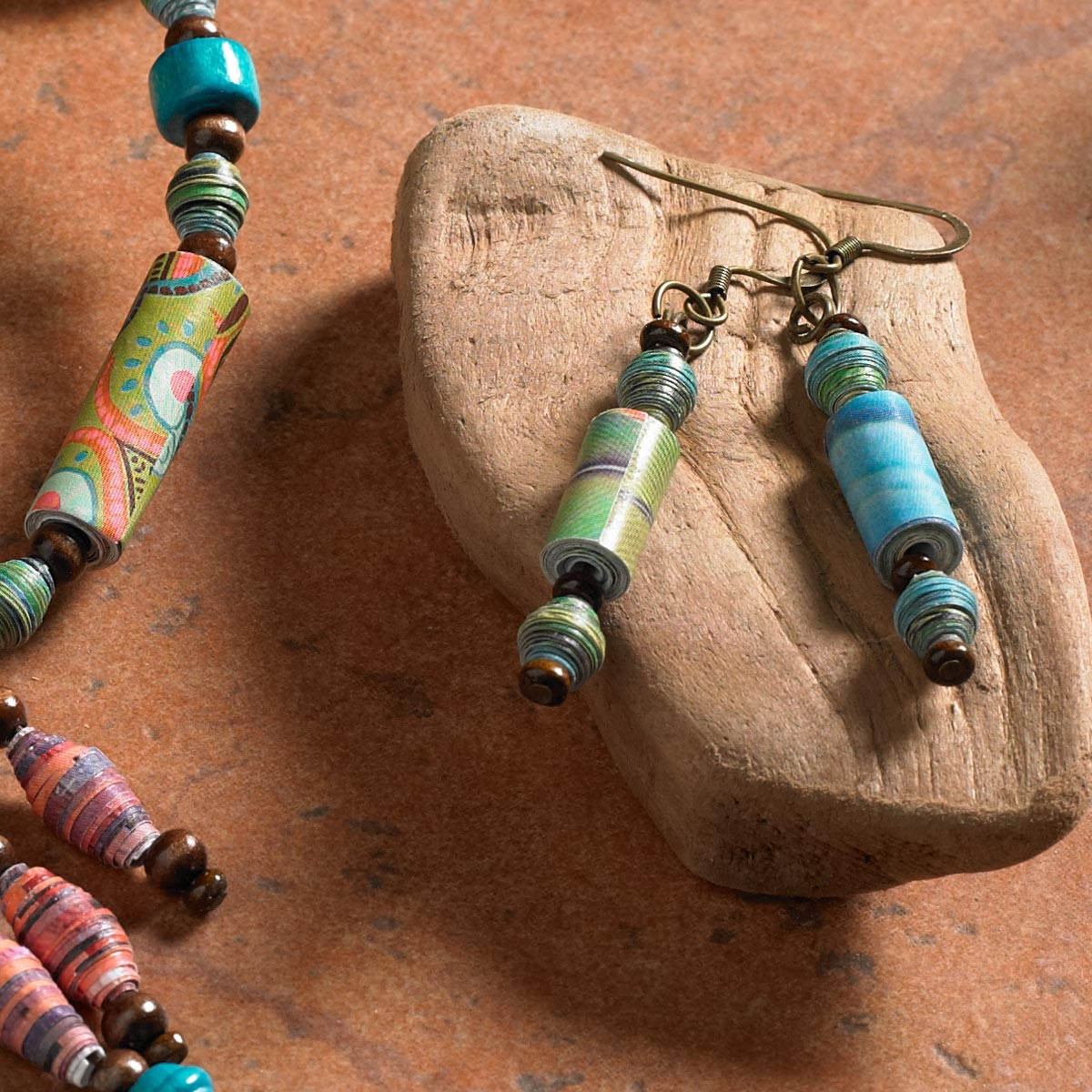 Mod Podge DIY Jewelry Project Idea