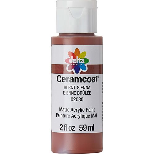 Delta Ceramcoat ® Acrylic Paint - Burnt Sienna, 2 oz.